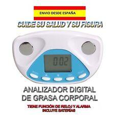 ADIPOMETRO MEDIDOR DIGITAL DE GRASA CORPORAL REGIMEN DIETA GIMNASIO EJERCICIOS
