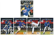 2016 Sports Illustrated Chicago Cubs World Series Commemorative 5 Magazine Set!