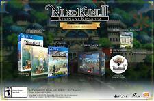 NI NO KUNI II 2 REVENANT KINGDOM PREMIUM EDITION Playstation 4 PS4 New Fast Ship