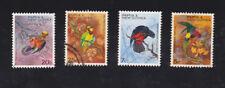 1967 Papua New Guniea, Parrots, SG 121/4 Fine Used, Set