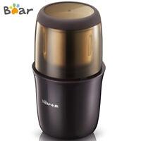Bear Coffee Bean Grinder 300W Electric Salt Spices Cereals Grinder Kitchen Aid