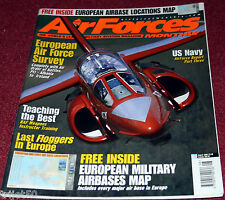 Air Forces Monthly 2002 August Gripen,Mig-23,European Air Power