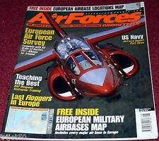 Air Forces Monthly Magazine 2002 August Gripen,Mig-23,European Air Power