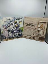 Lot Of 2 Records By The Outlaws, Lady In Waiting  pre Owned
