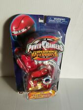 Power Rangers Operation Overdrive Red Electronic Hand Gear New