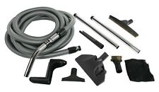 Cen-Tec Systems 91431 Complete Central Vacuum Accessory Kit with Metal Wands