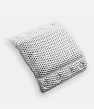 Bino Non-Slip Cushioned Bath Pillow With Suction Cups, White - Spa Pillow Bath P