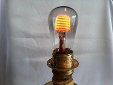 VINTAGE  GLOW LAMP-BULBS Aerolux Figural Bulb --SPIRAL--E27--220V--ULTRA RARE