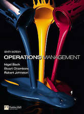 Operations Management with MyOMLab (6th Edition) by Slack, Nigel, Chambers, Stu