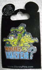 Where's My Water - Swampy, Allie, and Cranky Alligator Disney Pin NEW