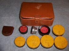 Collection of Vintage Kodak Filters / Adapter Rings - Kodachrome Series VI