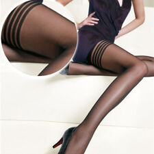 Lady Over Knee Thigh High Stockings Sock Stay Up Pantyhose Sheer Tights