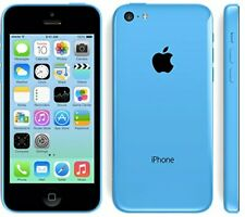 UNLOCKED AT&T Apple iPhone 5C 16GB Blue 4G LTE Smart GSM Camera Cell Phone *7/10