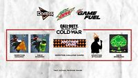 CoD Call Of Duty Black Ops Cold War: Doritos Unlocks & Mountain Dew Unlocks