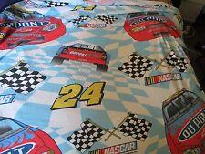 NASCAR 24 FLAT TWIN SHEET-100% COTTON