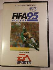 SEGA FIFA SOCCER 95 GENESIS SYSTEM BOX GAME + MANUAL