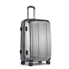 28in Hard Shell Luggage 4 Wheels Suitcase TSA Lock Travel Carry on Bag Grey