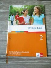 Orange Line 2 - Standardaufgaben mit Audio-CD und Lehrersoftware