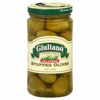 GIULIANO, OLIVE STFD JALAPENO, 7 OZ, (Pack of 6)