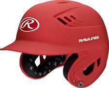 New Rawlings Adult/Senior R16 Batting Helmet- matte/red - slight scratches