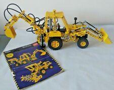 Vintage Rare? Lego Technic Pneumatic JCB Backhoe Digger Combine Harvester 8862