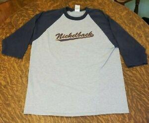 Nickelback 07 Elbow Length Sleeve T-Shirt Anvil Large
