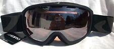 $120 Mens Giro Basis Black Winter Ski Snow Goggles carrera Carl Zeiss spy Lens