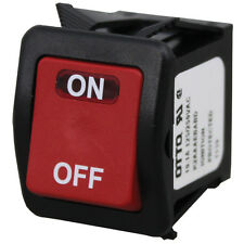 RED ROCKER POWER SWITCH 10.1A 125/250VAC for Vulcan Griddle 9000RE 924RE 421979