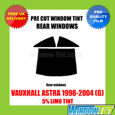 VAUXHALL ASTRA COUPE 1998-2004 (G) 5% LIMO REAR PRE CUT WINDOW TINT