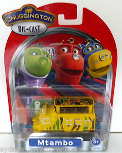 Chuggington Die-Cast Mtambo (Last 2) (reduced to clear)