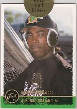 Alfonso Soriano Yankees Rookie Card Just 1999 24kt Gold 1/1 Edition