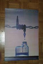 Ancienne affiche affichette AMNESTY INTERNATIONAL - Illustration Granger