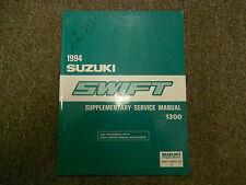 1994 Suzuki Swift 1300 Supplementary Service Shop Manual FACTORY OEM BOOK 94