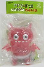 CLEAR RED Exclusive ICE-BAT Kaiju KFGU Vinyl UGLYDOLL! ONLY 100 MADE! VERY RARE!