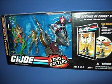 GI JOE 25th Anniversary MASS DVD BATTLES 3 FIGURE PACK 2 of 5 NIB NEW
