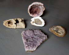 Lot de 5 minéraux, pierres