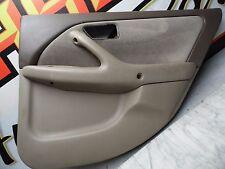 OEM 97-01 Toyota Camry LE Oak Brown Rear Passenger's Interior Door Panel/Card