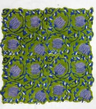 Indian Hand Block Print Dressmaking Cotton Fabric Craft Sewing Floral 10 Yard