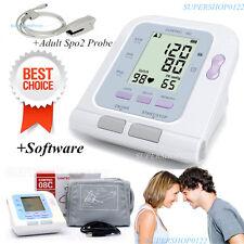 CONTEC Blood Pressure Monitor CONTEC08C, Adult Cuff, PC Software +spo2 probe CE