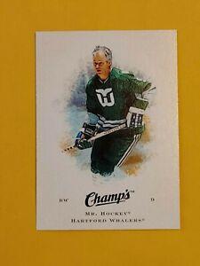 2008-09 Upper Deck Champ's Hockey #31 Gordie Howe Hartford Whalers