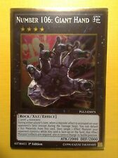 Number 106: Giant Hand - Premium Gold 3 - Infinite - Mint card - YuGiOh