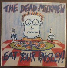 The Dead Milkmen: Eat Your Paisley! - Vinyl LP - 1987 Australian pressing