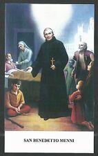 Estampa de San Benedetto Menni andachtsbild santino holy card santini