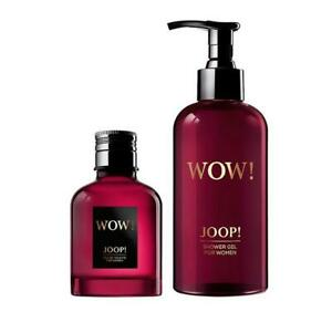 Joop Wow for Women 60 ml EDT Spray + 250 ml Duschgel im Set Originalverpackt!