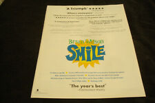 "Brian Wilson Presents Smile 2004 ad Beach Boys & Maroon 5 Adam Levine ""This Love"