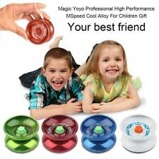 Aluminum Design Professional YoYo Ball Bearing String Trick Toy For Kids Gift