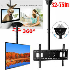"TV Ceiling Mount Bracket  32 46 48 50 55 60 70 75"" LED Plasma LCD Bracket Tilt"