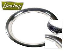 "15 ""Beauty ANELLI snap clip in acciaio inox taglia Ruota VW Bug Beetle T2"