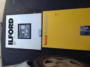 20 X 24 Kodak POLYMAX FINE ART FD/ ILFORD MULTIGRADE RC(open box) EXPIRED AS IS