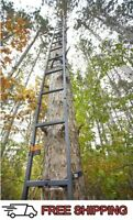 20 ft Tree Stand Ladder Deer Outdoor Bow Hunting Climbing Stick Crossbow Archery